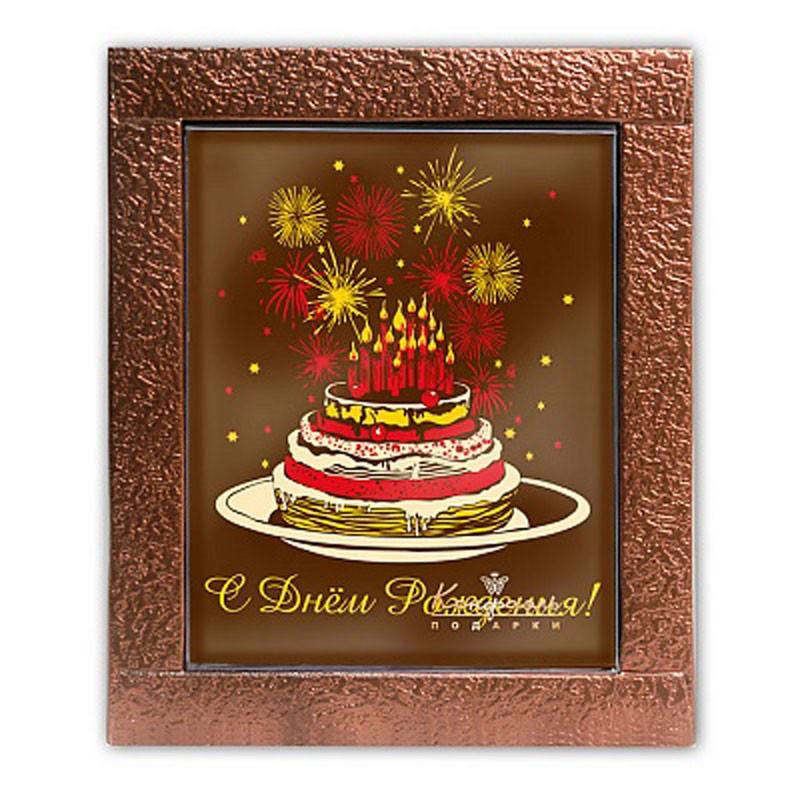 Шоколадная открытка Торт