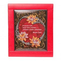 """Шоколадная открытка """"Сердце"""""""